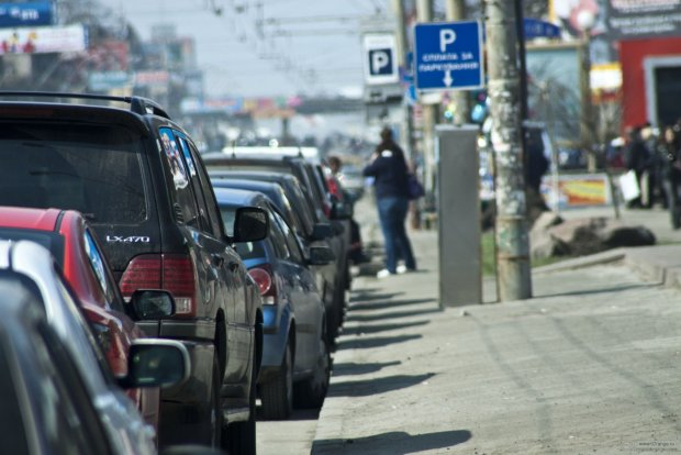 "Київський ""герой парковки"" нарвався на страшне міське прокляття: фото"