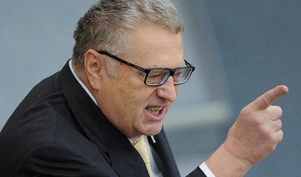 """Жириновський видав """"експертну думку"""" стосовно блокади Донбасу"""