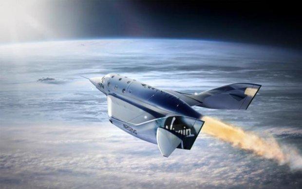 Virgin Galactic здійняло у повітря унікальний туристичний космоліт