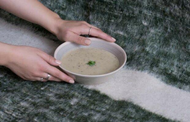 Грибний суп від Тані Брик, фото: Новий канал