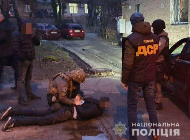 Задержание злоумышленников, напавших на иностранных туристов