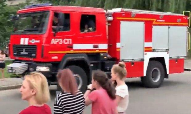 У Києві продавщиця згоріла на ринку