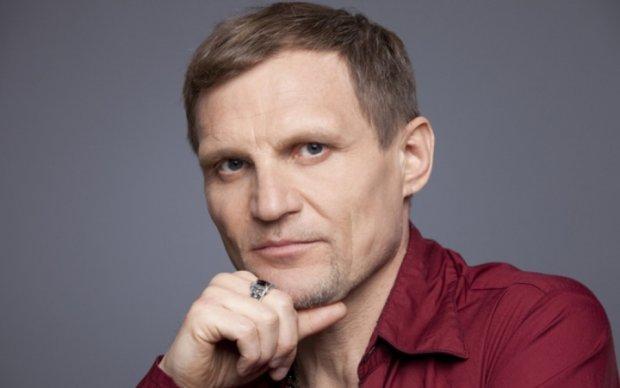 Український художник підтримав Скрипку карикатурою