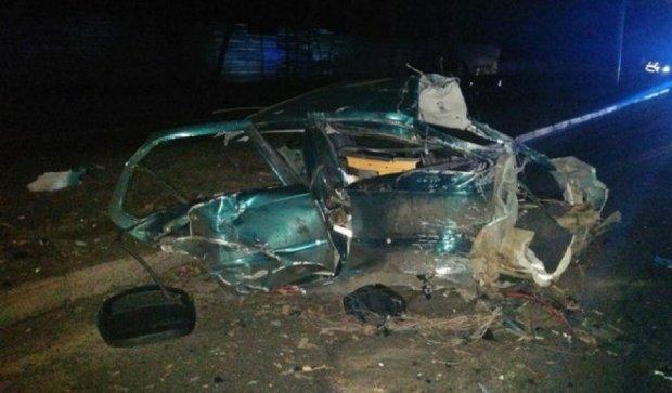 В Харькове водителя и машину разорвало на части (фото, видео)