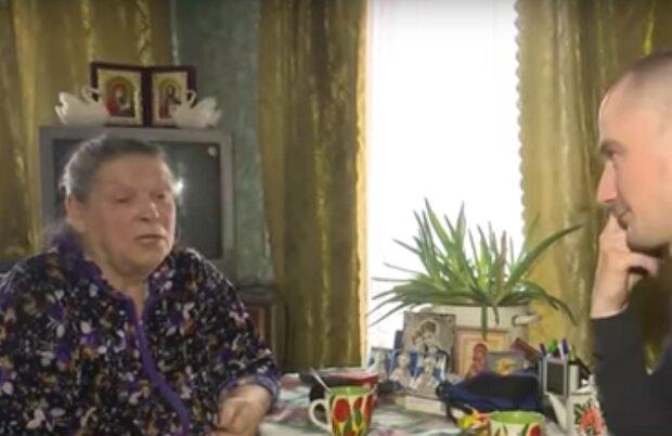 Бабуся Марії Мезенцевої, скріншот: Zik