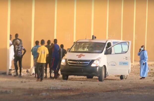 В Сенегале произошла вспышка неизвестной болезни, фото: кадр из видео