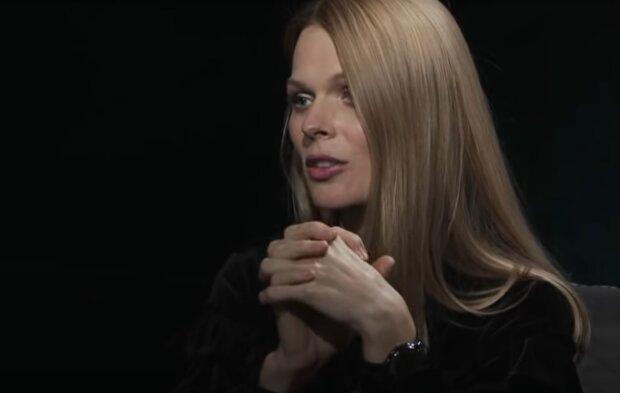 Ольга Фреймут, кадр из интервью с Натальей Влащенко на телеканале Zik: YouTube