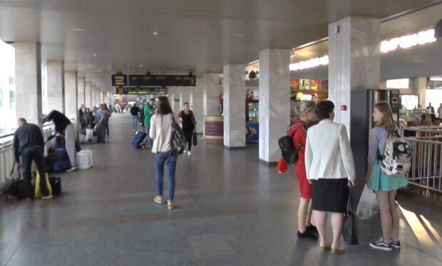 вокзал / скриншот из видео
