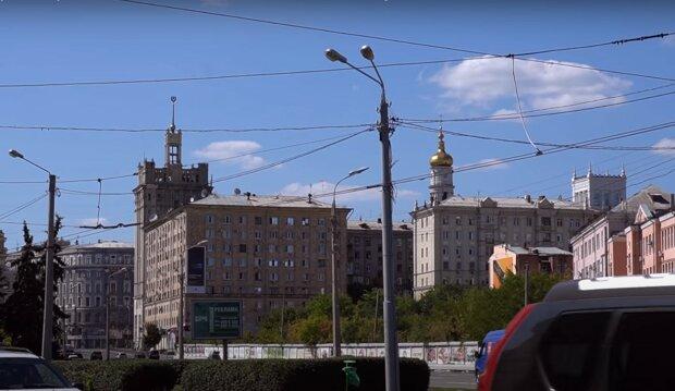 улица Харькова, скриншот из видео