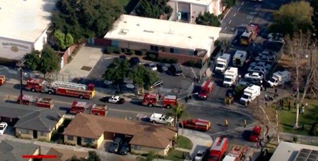 Скидання палива у Каліфорнії скріншот: CNN
