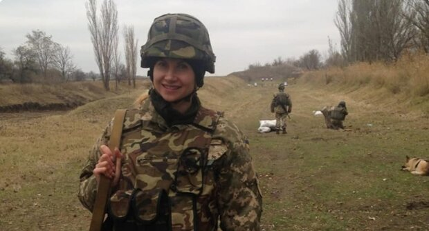 Олена Миколайчук, фото Армія.інформ