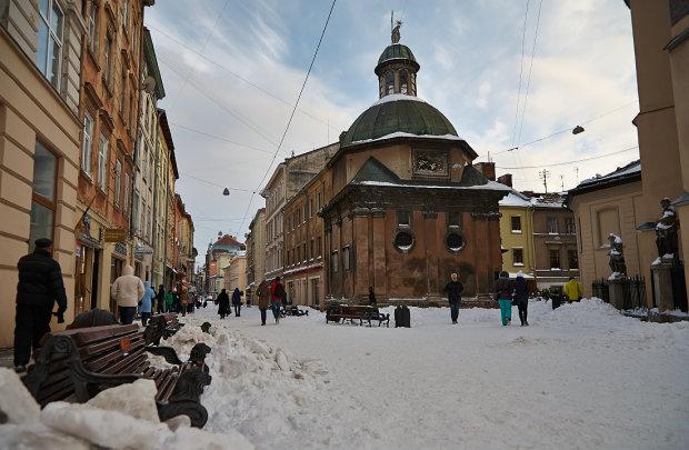 Львів перетвориться на Лапландію: прогноз погоди на 22 лютого
