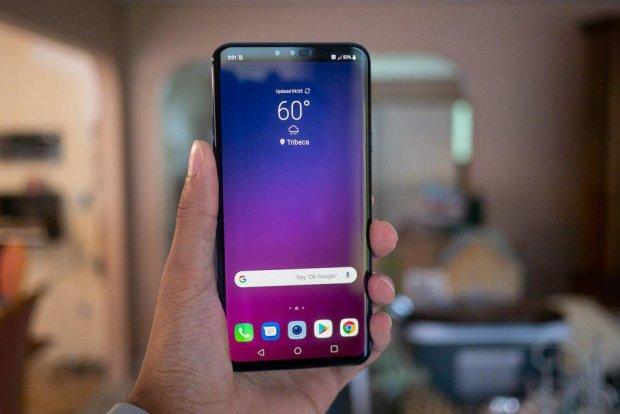 LG назвала ціну першого 5G-смартфона V50 ThinQ 5G