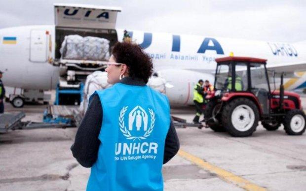 Не в приклад Кремлю: ООН передала на Донбас десятки тонн гумдопомоги