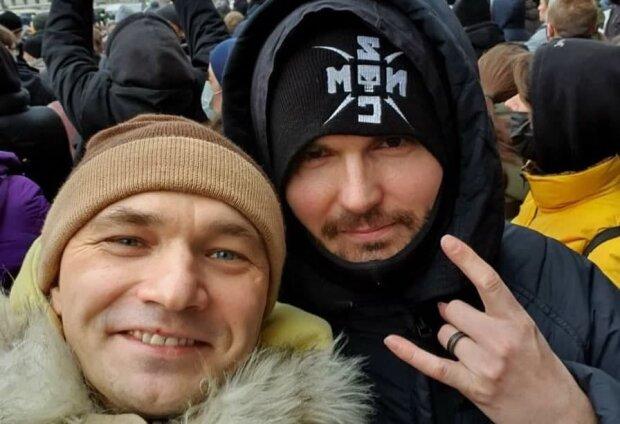 """Noize MC і Владі з """"Касти"""", фото: Instagram"""