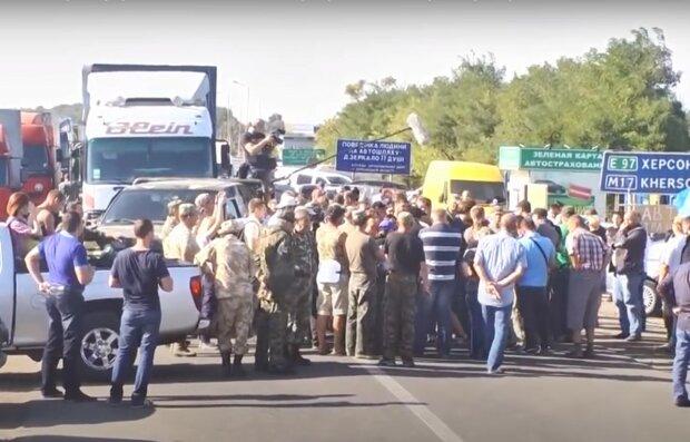 крымские активисты, скриншот из видео