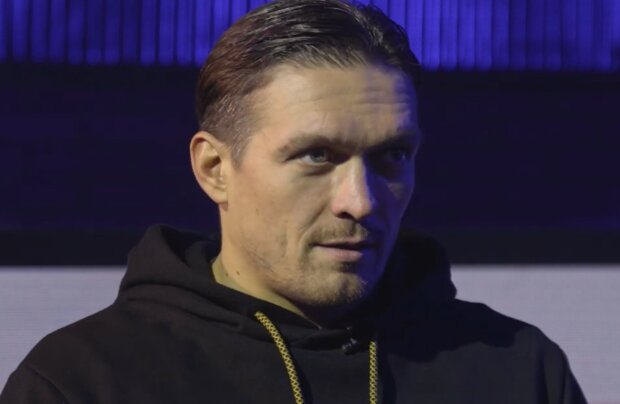 Олександр Усик, кадр з інтерв'ю: YouTube