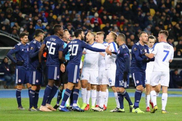 УЕФА наказал Динамо перед игрой с Челси