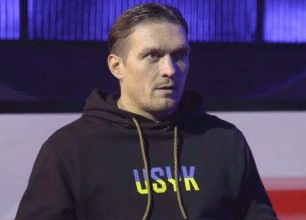 Олександр Усик, скріншот відео