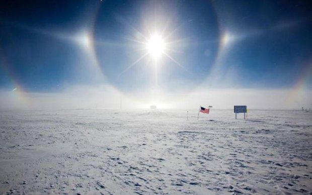 """Ученые показали, как солнце """"катится"""" горизонтом Антарктиды"""