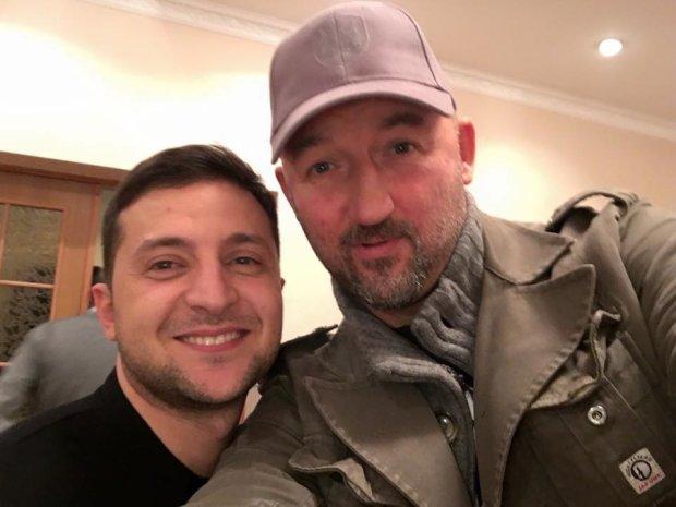 Мочанов выложил фото с Зеленским и высказал возмущение: кто эти люди?