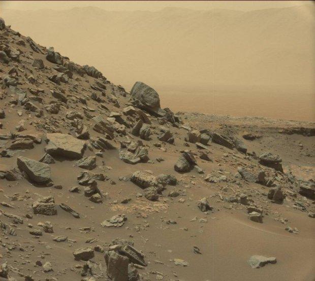 Как выглядят скалы Марса