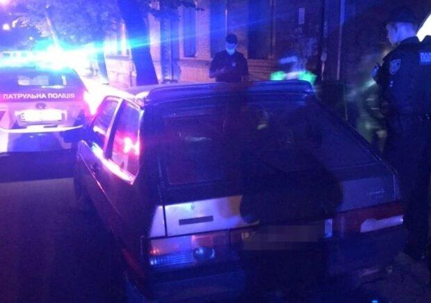 Выпил, ограбил и сел за руль – в Ивано-Франковске задержали молодого дебошира на горячем