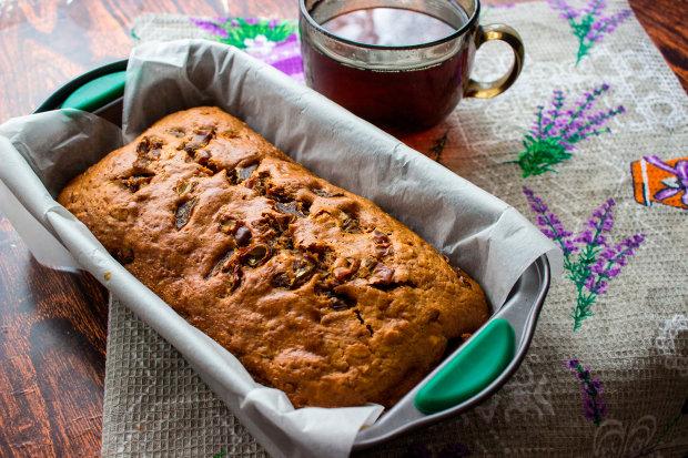 Рецепт за 2 кроки: кекс з волоськими горіхами