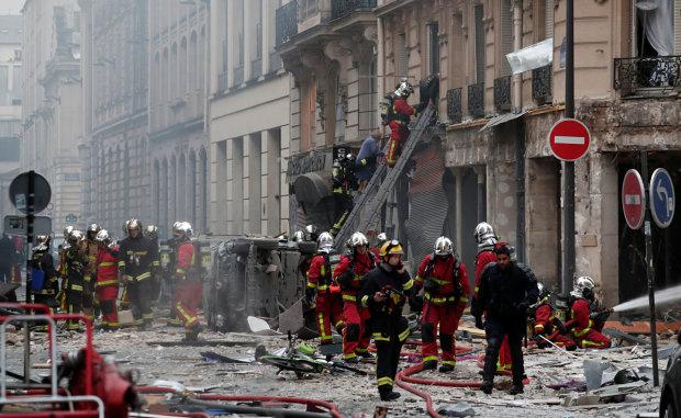Копи назвали причину вибуху у Парижі
