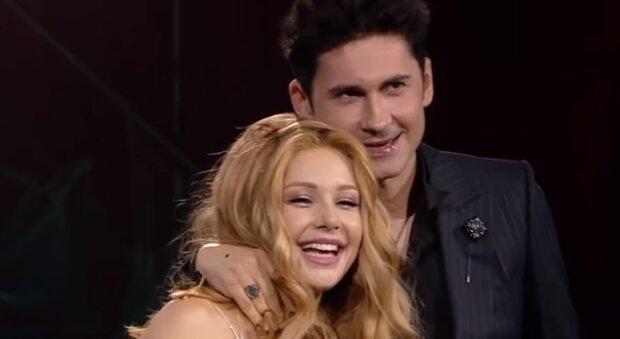 Тина Кароль и Дан Балан, скриншот: Youtube