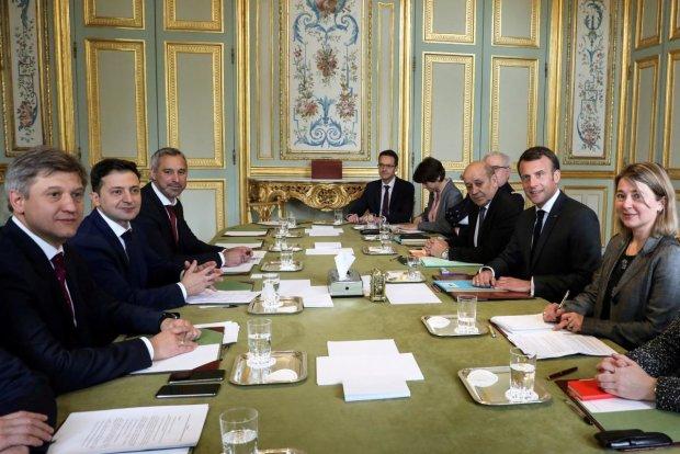 Встреча Зеленского и Макрона