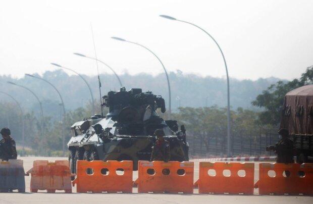 Военный переворот в Бирме, фото: AFP