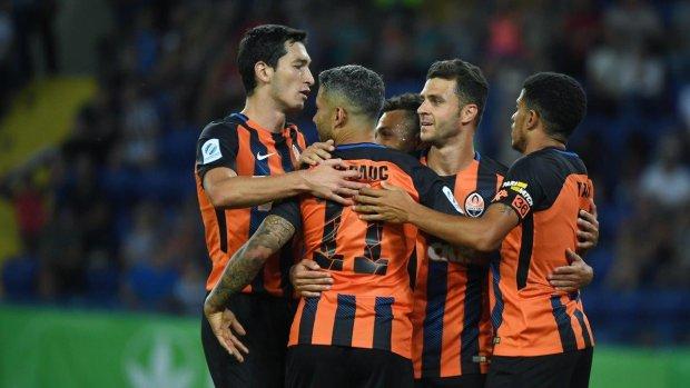 Пять голов, два пенальти и удаление: Шахтер выиграл у Олимпика донецкое дерби в матче Кубка Украины