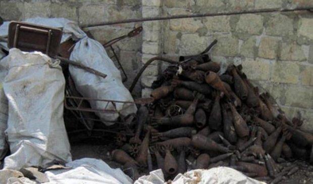 В Киеве нашли снаряды времен Второй мировой войны