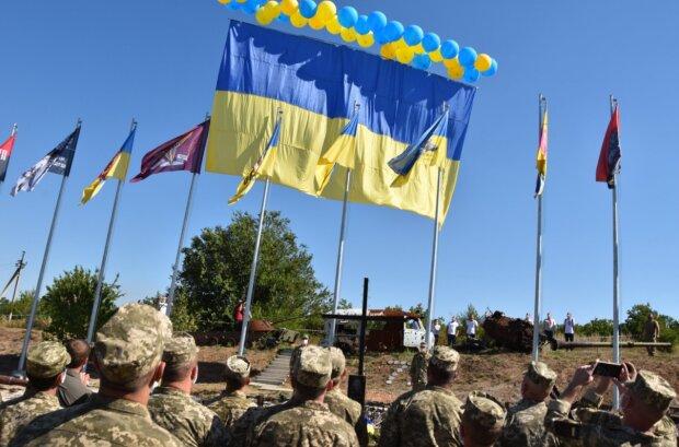 День Независимости на Донбассе, фото: facebook.com/pressjfo.news