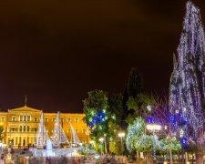 Новий рік в Афінах