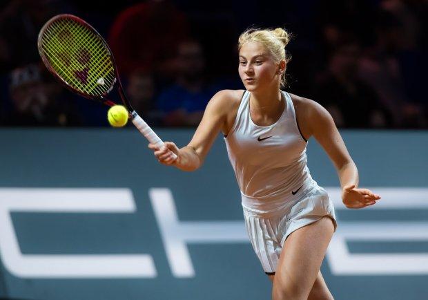 Костюк победила в первом матче турнира в Брисбене