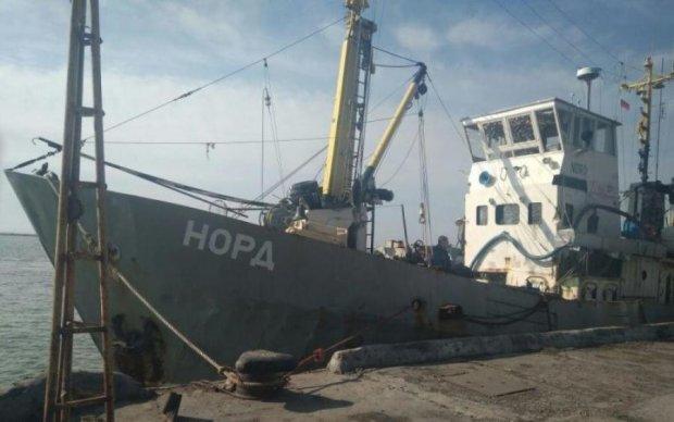 Затримання російського судна Норд: капітана раптово забрали з СІЗО