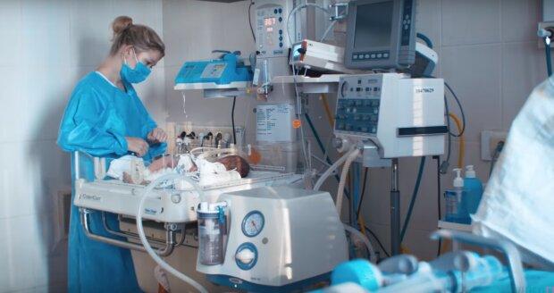 роддом, скриншот из видео