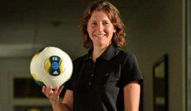 Впервые женщина будет главным арбитром матча УПЛ