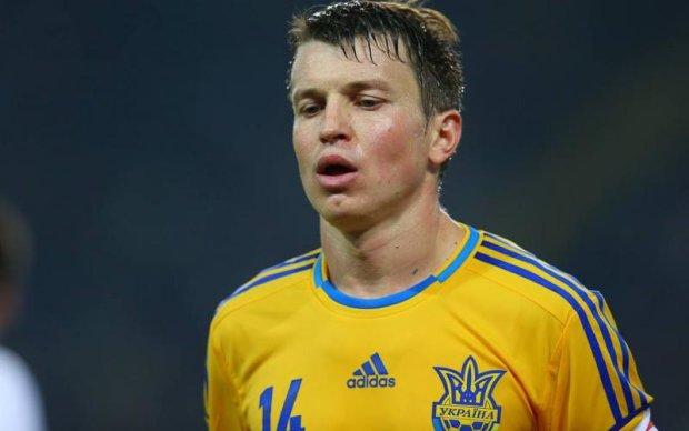 Экс-капитан Днепра надеется сыграть за сборную Украины