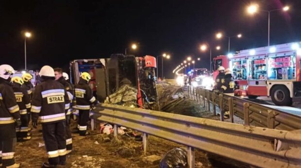 Авария в Польше, фото: nowiny24.pl