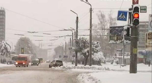 Зима, фото: кадр з відео
