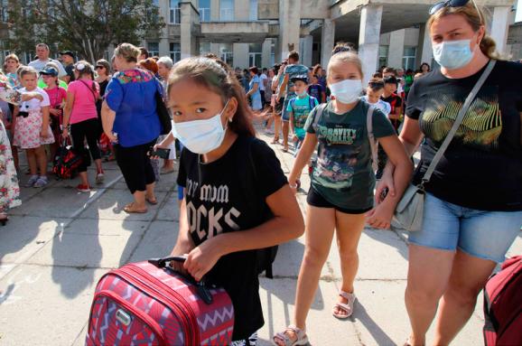 Химический выброс в Крыму: оккупанты угрожают второй волной катастрофы