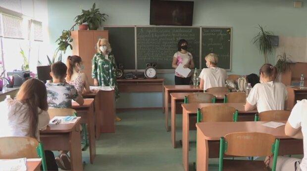 ВНО в школе, скрин с видео Espreso.TV