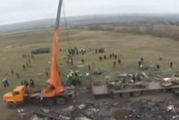 Катастрофа MH17, скріншот відео