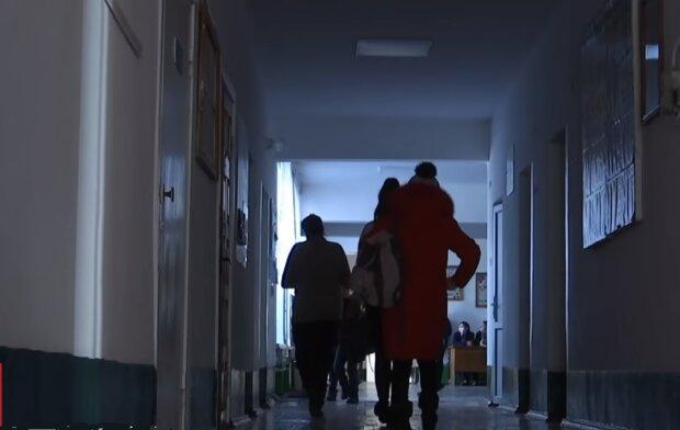 Ольшанский лицей, кадр из видео