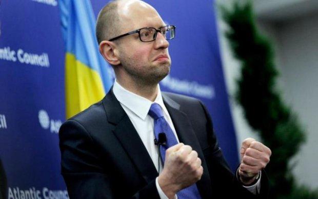 Яценюк очолив найганебніший рейтинг України