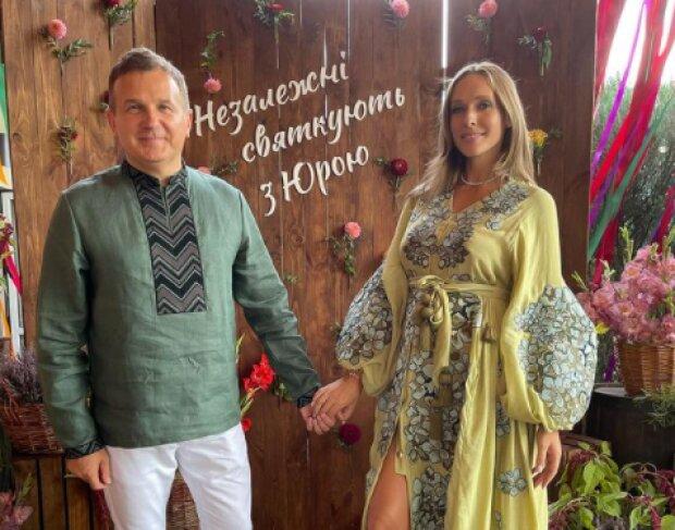 Катерина Осадча з Юрієм Горбуновим, фото з Instagram