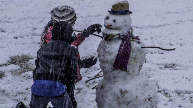 Неподдельное счастье: дети впервые увидели снег и стали звездами интернета, а когда вы так радовались?